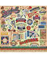 Baseball Element Stickers