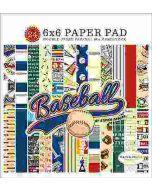 "Baseball 6"" x 6"" Paper Pad"