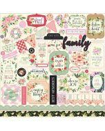Botanical Garden Element Stickers - Carta Bella