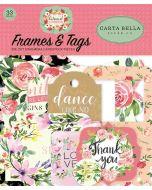 Botanical Garden Frames & Tags - Carta Bella