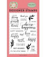 Stand Tall Stamp Set - Botanical Garden - Carta Bella
