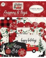 Christmas Market Frames & Tags - Carta Bella