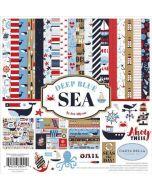 "Deep Blue Sea 12"" x 12"" Collection Kit - Carta Bella"