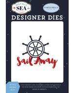 Sail Away Ship Wheel Die Set - Deep Blue Sea - Carta Bella