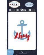 Ahoy Anchor Die Set - Deep Blue Sea - Carta Bella