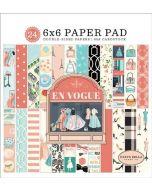 """En Vogue 6"""" x 6"""" Paper Pad - Carta Bella"""
