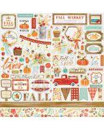 Fall Market Element Stickers - Carta Bella