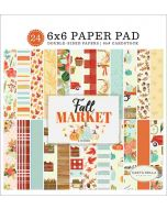 "Fall Market 6"" x 6"" Paper Pad - Carta Bella"
