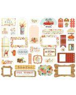 Fall Market Frames & Tags - Carta Bella