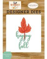 Happy Fall Leaf Die Set - Fall Market - Carta Bella