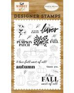 Autumn Harvest Stamp Set - Fall Market - Carta Bella