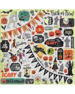 Happy Halloween Element Stickers - Carta Bella