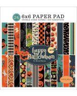 "Happy Halloween 6"" x 6"" Paper Pad - Carta Bella"