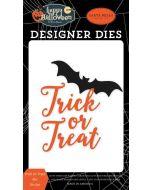 Trick Or Treat Bat Die Set - Happy Halloween - Carta Bella