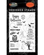 Toil & Trouble Stamp Set - Happy Halloween - Carta Bella