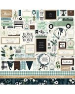 Home Again Element Stickers - Carta Bella