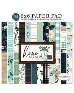 "Home Again 6"" x 6"" Paper Pad - Carta Bella"