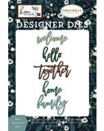 Home Together Word Die Set - Home Again - Carta Bella