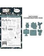 Gather Together Die & Stamp Set - Home Again - Carta Bella