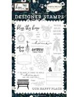 Gather Together Stamp Set - Home Again - Carta Bella