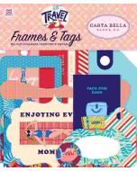 Let's Travel Frames & Tags - Carta Bella