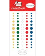 Merry Christmas Enamel Dots - Carta Bella