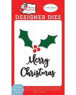 Christmas Holly & Berries Die Set - Merry Christmas - Carta Bella