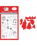 Oh What Fun Die & Stamp Set - Merry Christmas - Carta Bella