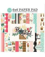 "Flower Market 6"" x 6"" Paper Pad"