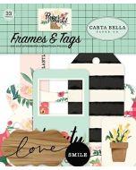 Flower Market Frames & Tags