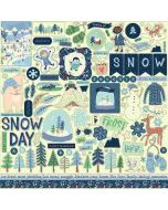 Snow Much Fun Element Stickers - Carta Bella