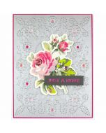 Floral Reflections Cut and Emboss Folder - Spellbinders
