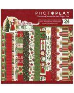 "Christmas Memories 6"" x 6"" Paper Pad - Becky Fleck Moore - PhotoPlay"