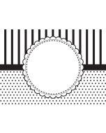 Cgull 12-0006 Embossing Folder Circle Frame
