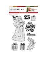 Santa Stamps - Christmas Memories - Becky Fleck - PhotoPlay