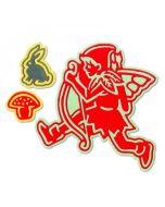 Fairy #6 Thinlits Dies - Jorli Perine - Sizzix