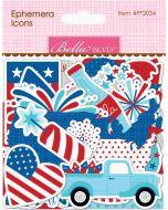 Fireworks & Freedom Ephemera Icons