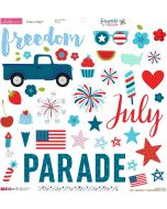 Fireworks & Freedom Chipboard Icons