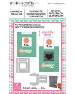Uchi's Design ANIMATION CARD PEEK A BOO Die