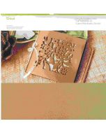 Cricut Maker Gold Leather Material