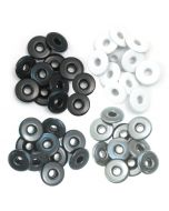 We R Memory Keepers Wide Eyelets - Grey