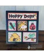 Foundations Decor Happy Days Shadow Box