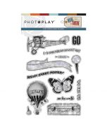 PhotoPlay Here & There Stamp Set