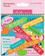 Home Sweet Home Ephemera Words