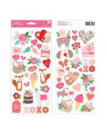 Pebbles Icon Stickers - Loves me