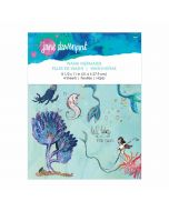 WASHI MERMAIDS WASHI SHEETS ARTOMOLOGY COLLECTION BY JANE DAVENPORT