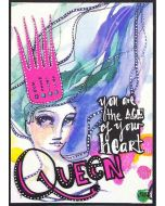 Queen for a Day Etched Dies - Artomology - Jane Davenport - Spellbinders