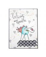 Jane Davenport Unicorn Sparkle Stamp set