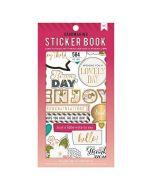 American Crafts Just a Little Note Sticker Book