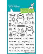 Yeti Or Not Clear Stamps - Lawn Fawn